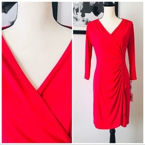NWT! CALVIN KLEIN BRIGHT PINK ZIPPERED SHOULDER